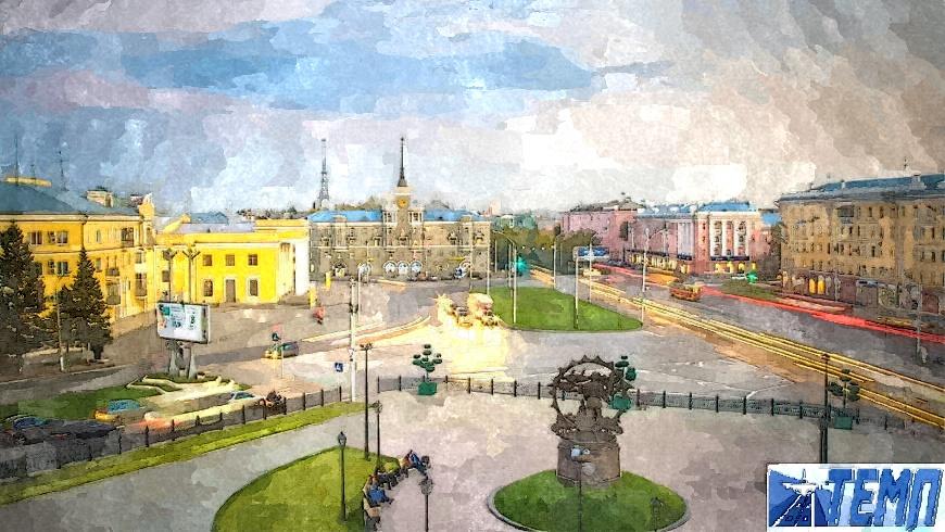 Барнаул рисунок