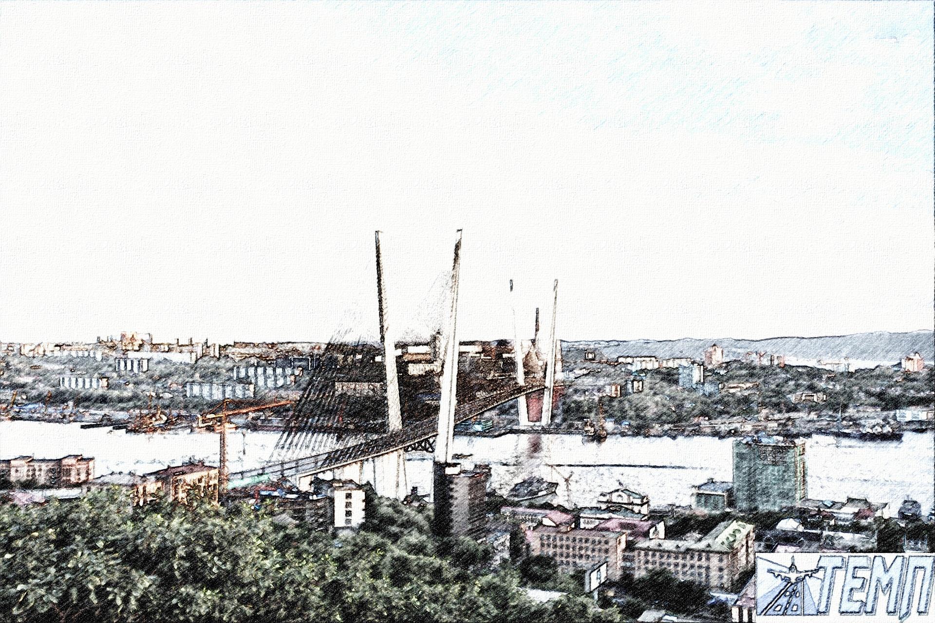 Владивосток рисунок