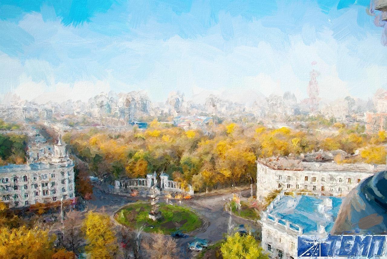 Воронеж рисунок